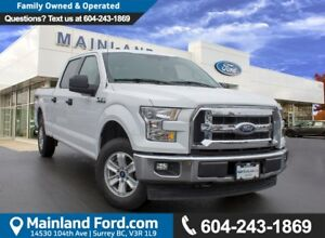 2017 Ford F-150 XLT LOW KMS, ACCIDENT FREE, BC LOCAL