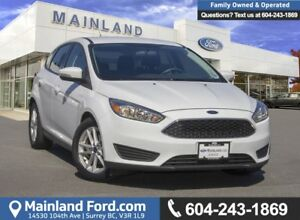 2015 Ford Focus SE *LOCALLY DRIVEN*