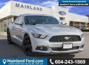 2015 Ford Mustang EcoBoost LOW KMS, ACCIDENT FREE, BC LOCAL
