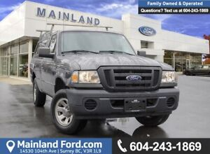 2011 Ford Ranger XL ACCIDENT FREE, BC LOCAL
