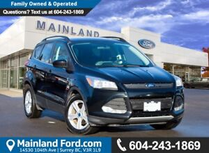 2014 Ford Escape SE NO ACCIDENTS, LOCAL BC, LOW KMS