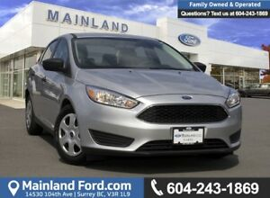 2017 Ford Focus S *LOCALLY DRIVEN*