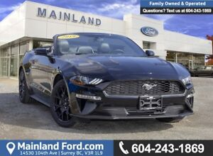 2019 Ford Mustang EcoBoost Premium Convertible 200A