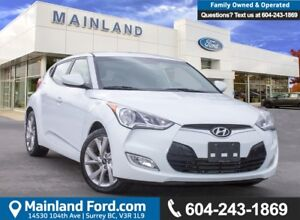 2016 Hyundai Veloster SE BC LOCAL, LOW KMS, ACCIDENT FREE