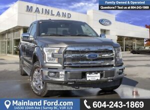 2017 Ford F-150 Lariat EXTREMELY LOW KMS, ACCIDENT FREE, OOP