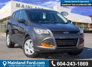 2015 Ford Escape S LOW KMS, BC LOACL, ACCIDENT FREE
