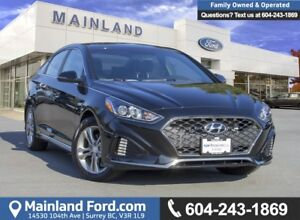 2018 Hyundai Sonata 2.4 Sport LOW KMS, ACCIDENT FREE, BC LOCAL