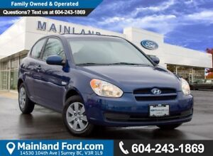 2011 Hyundai Accent L ACCIDENT FREE, LOW KMS