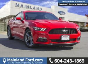 2017 Ford Mustang V6 LOW KMS, ACCIDENT FREE, BC LOCAL