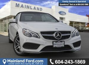 2014 Mercedes-Benz E-Class LOW KMS, BC LOCAL
