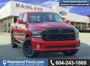 2018 RAM 1500 Sport *ACCIDENT FREE*