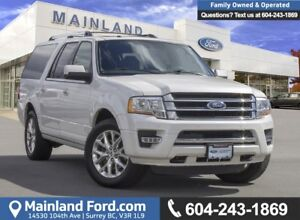 2017 Ford Expedition Max Limited ***BC LOCAL***