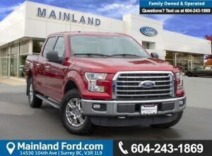 2015 Ford F-150 XLT LOW KMS, BC LOCAL