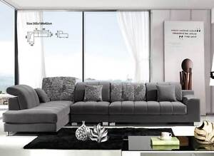 Brand NEW Fabric sofa Lounge AVAILABLE IN DIFFERENT COLOURS YFF Auburn Auburn Area Preview