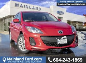 2013 Mazda 3 GS-SKY LOCALLY DRIVEN, LOW KMS