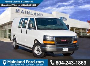 2015 GMC Savana 2500 1WT LOW KMS, NO ACCIDENTS, LOCAL BC