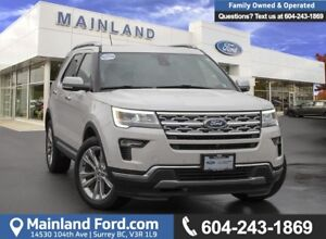 2018 Ford Explorer Limited *ACCIDENT FREE*