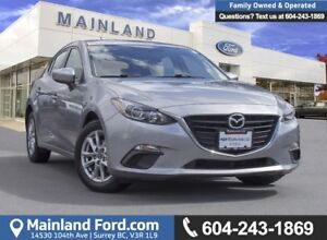2014 Mazda Mazda3 GS-SKY LOW KMS, ACCIDENT FREE, BC LOCAL
