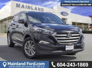 2017 Hyundai Tucson LOW KMS, ACCIDENT FREE, BC LOCAL