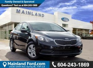 2016 Kia Forte 1.8L LX NO ACCIDENTS
