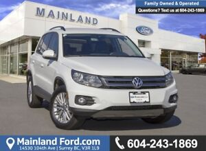 2016 Volkswagen Tiguan Special Edition *ACCIDENT FREE*