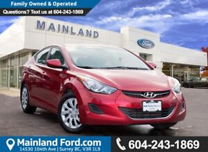 2013 Hyundai Elantra GL NO ACCIDENTS, LOCAL