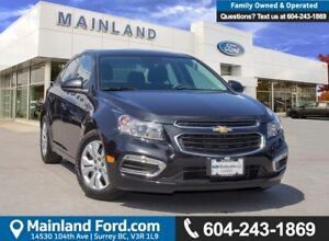 2015 Chevrolet Cruze 1LT *ACCIDENT FREE* *LOCALLY DRIVEN*