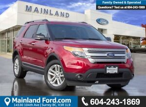 2015 Ford Explorer XLT ACCIDENT FREE, BC LOCAL, LOW KMS