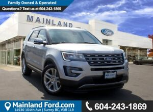 2017 Ford Explorer Limited LOW KMS, NO ACCIDENTS, LOCAL
