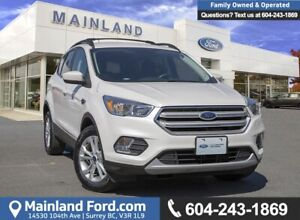 2018 Ford Escape SE LOW KMS, ACCIDENT FREE, BC LOCAL