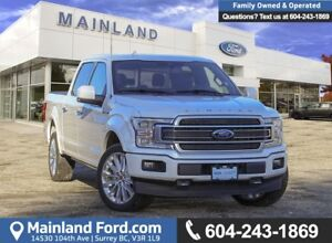2018 Ford F-150 Limited *ACCIDENT FREE* * LOCALLY DRIVEN*