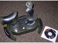 Thrustmaster Top Gun Afterburner II Joystick with throttle control for PC