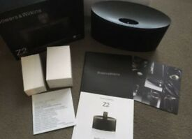 Bowers & Wilkins Z2 Wireless Speaker AirPlay Music System Lightning Dock Black