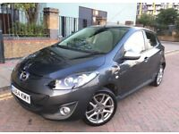 Mazda 2 2014 (64reg) Navigation, Bluetooth, Excellent condition,Low mileage, Fiesta,Corsa,Polo,Jazz.