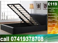 Special Offer DOUBLE storage leeatheer single King size available / Bedding