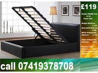 Amazing Offer DOUBLE storage leeatheer Base single King size available / Bedding
