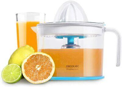Exprimidor zumo de naranja 1 L, 40W, filtro regulador pulpa ajustable,doble giro