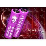 2 Purple IMREN IMR 18650 High Drain Battery 3.7v 3000mAh / 40Amp Li-MN Flat Top