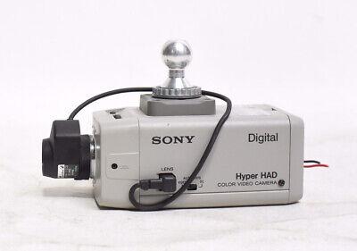 Sony Ssc-dc14 Digital Hyper Had Color Video Camera W Rainbow L2.8mm Lens
