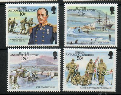 BRITISH ANTARCTIC TERRITORY 1987 RF SCOTT SET FINE UM/MNH