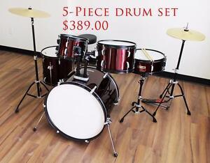 Acoustic Drum Set, Digital Drum Set www.musicm.ca