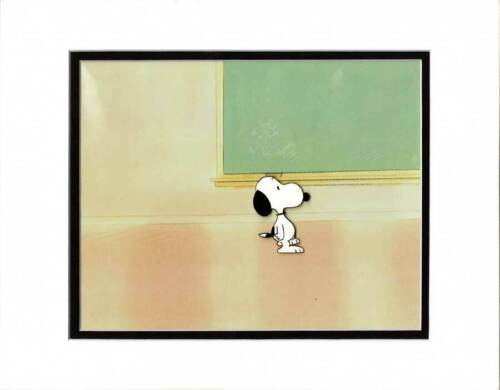 PEANUTS The Charlie Brown and Snoopy Show Production Animation Cel 1983-1985 32c