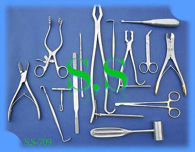 Veterinary Orthopedic Kit Surgical Instruments