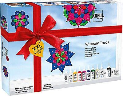 C.KREUL Window Color Hobby Line Glas Design, Set XXL