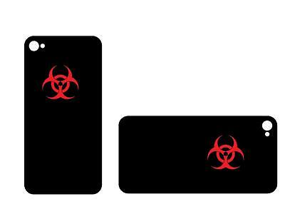 3  1  Biohazard Vinyl Decal Sticker Any Size Color Surface Car  Rc Phone S026