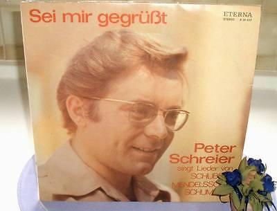 LP: Peter Schreier - Sei mir gegrüßt (DDR 1971/1972)