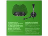 Microsoft Xbox One Chatpad, Headset & USB Cable *Brand New & Sealed* - Black