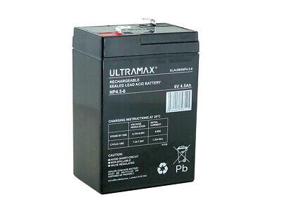 PACK of 2 Replacement Batteries for Waverunner SHUTTLE Bait Boat | 6V 4.5ah