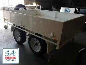 FLAT BED TRAILER WITH SIDES (AUS BUILT) Burton Salisbury Area Preview