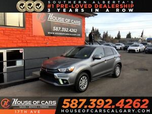 2018 Mitsubishi RVR SE / Back up camera / Heated Seats